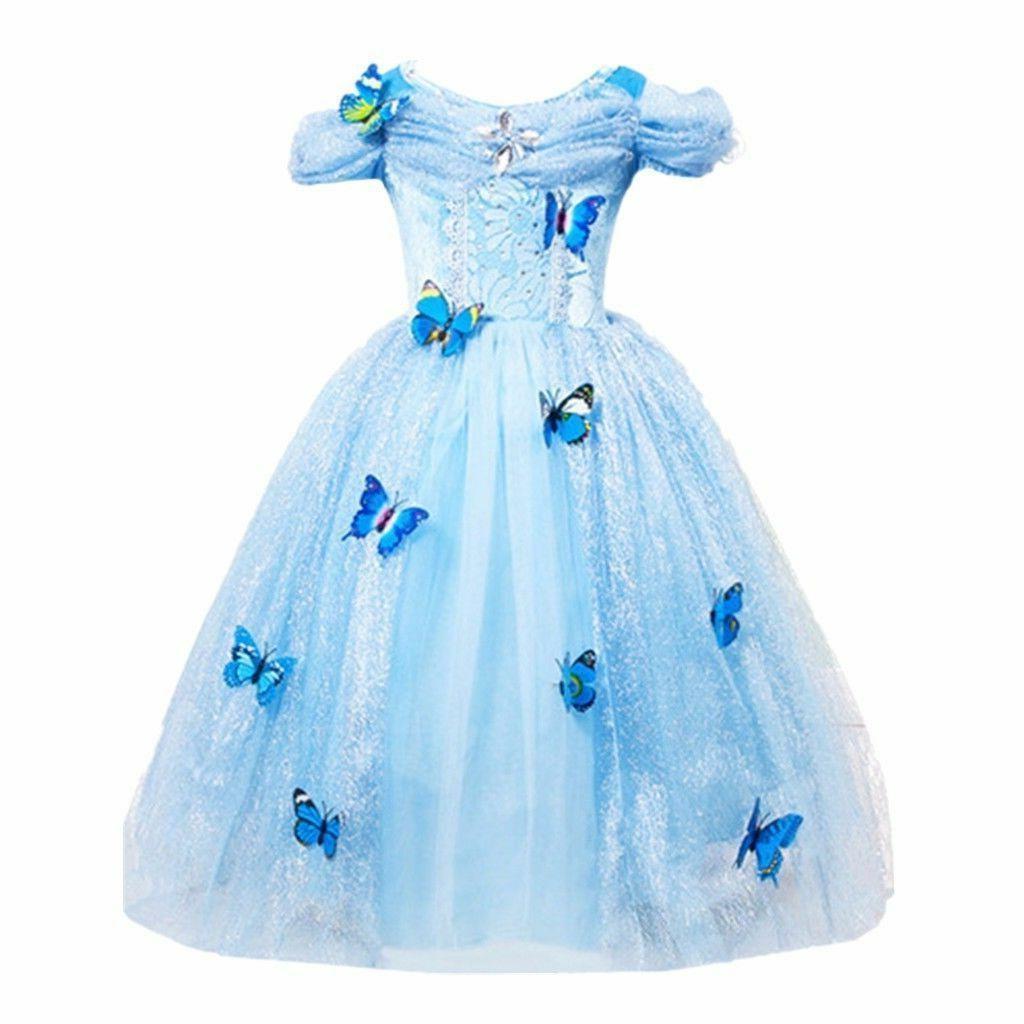us stock cinderella disney inspired dress princess