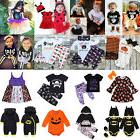 USA Toddler kids Baby Girl Boy Halloween Party Costume T-shi
