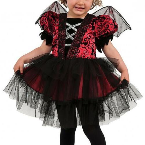 Vampire Toddler Bat Halloween Dress