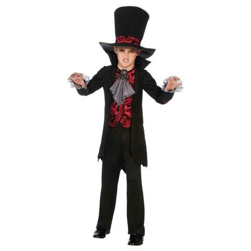 Vampire Lord Child size S 4/6 Costume Outfit Rubie's Arisen