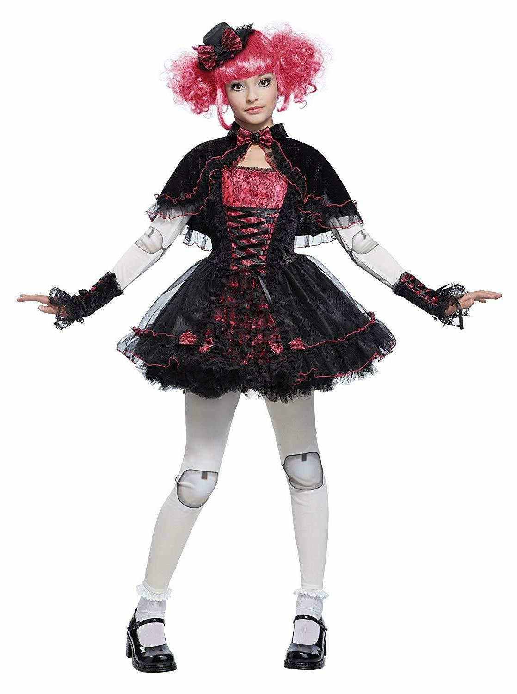 Victorian Gothic Lolita Doll Kids Costume