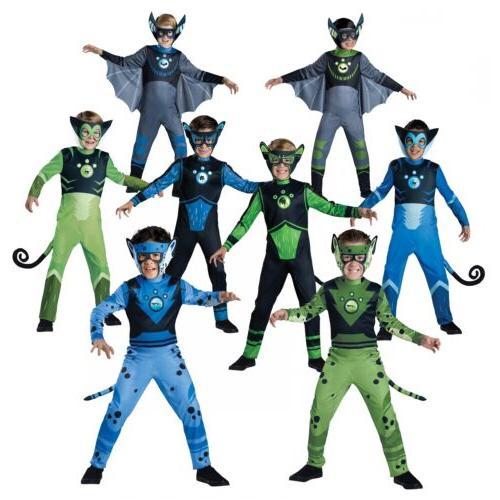 Wild Kratts Creature Power Suit Costume Kids Halloween Fancy