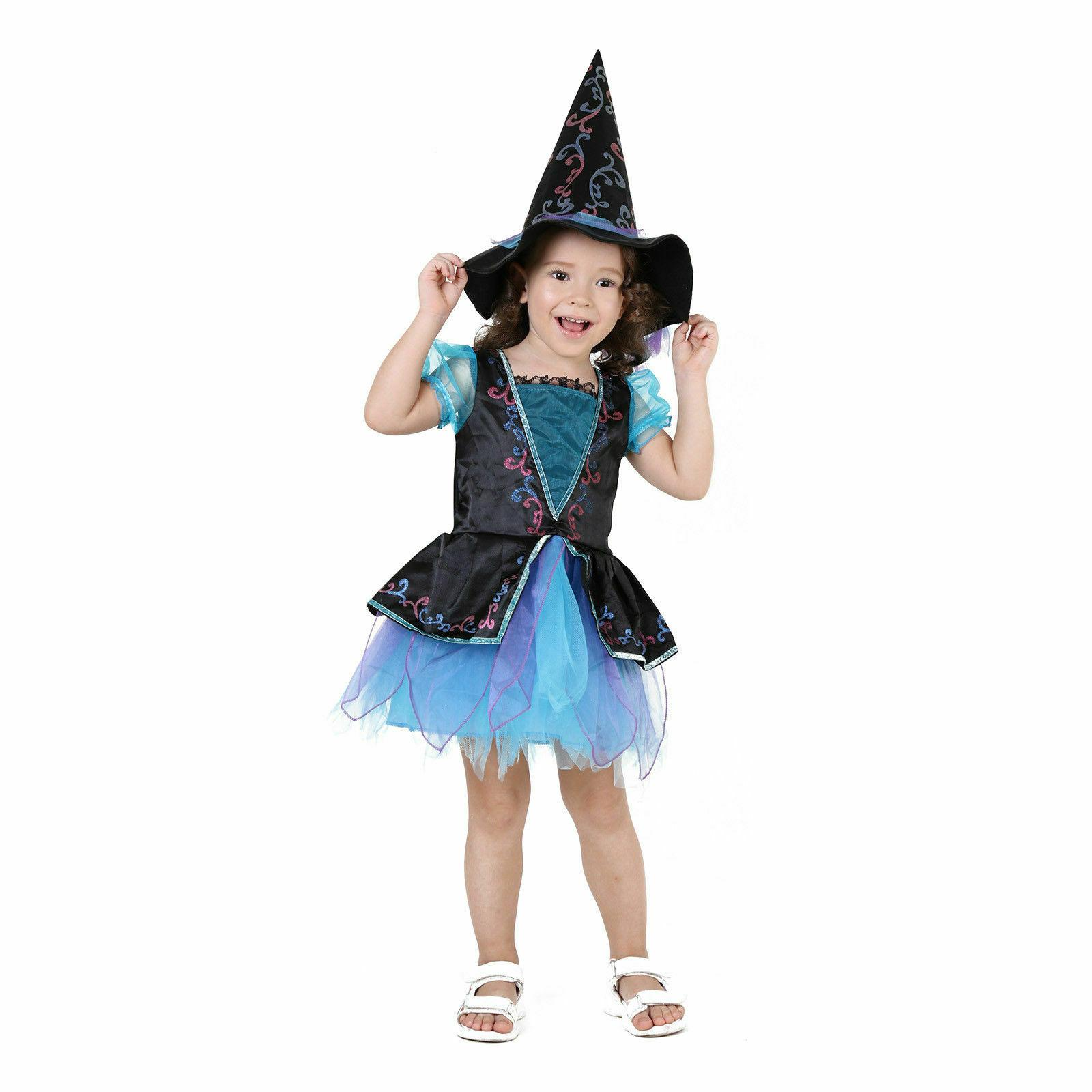 Witch Party Kids Deluxe Wizard Queen Dress
