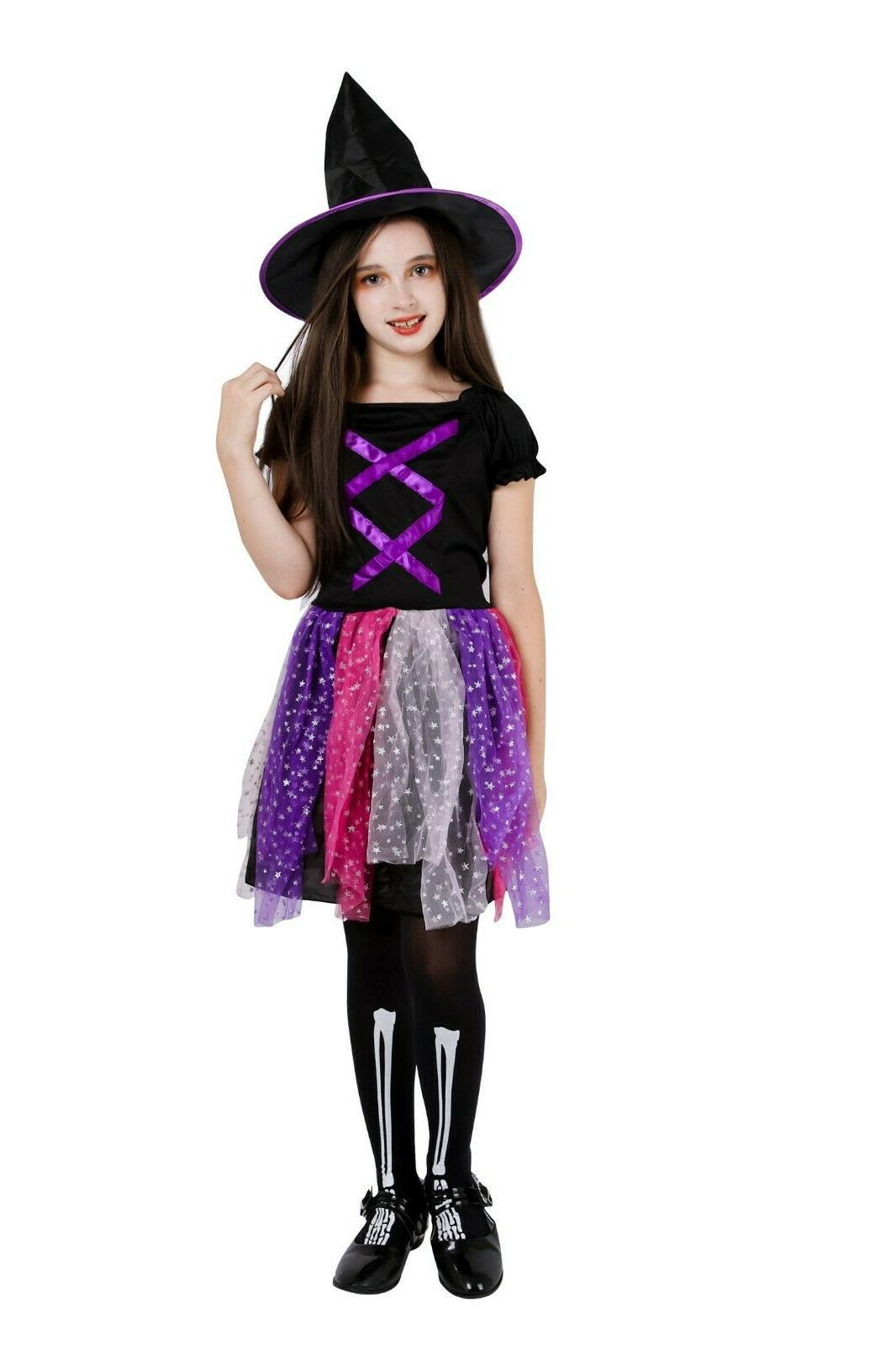 Witch Costume Party Deluxe Wizard Queen Dress