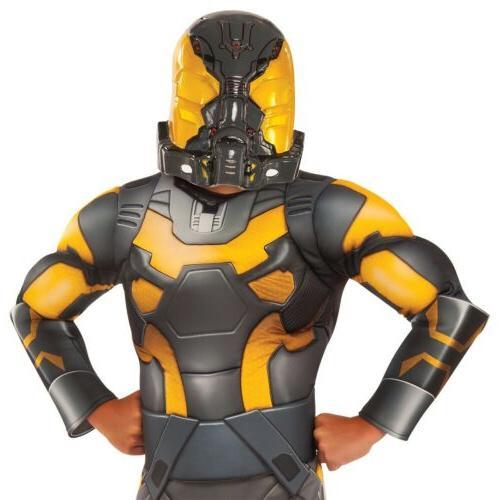 Yellow Costume Ant-Man Halloween Fancy Dress
