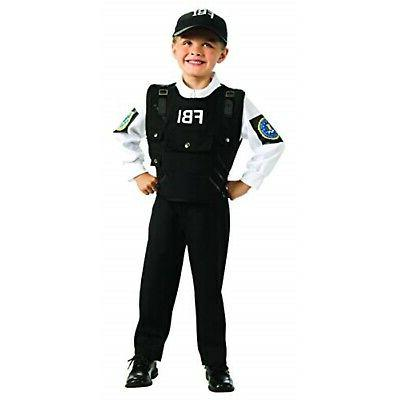 Young Heroes FBI Agent Costume, Medium