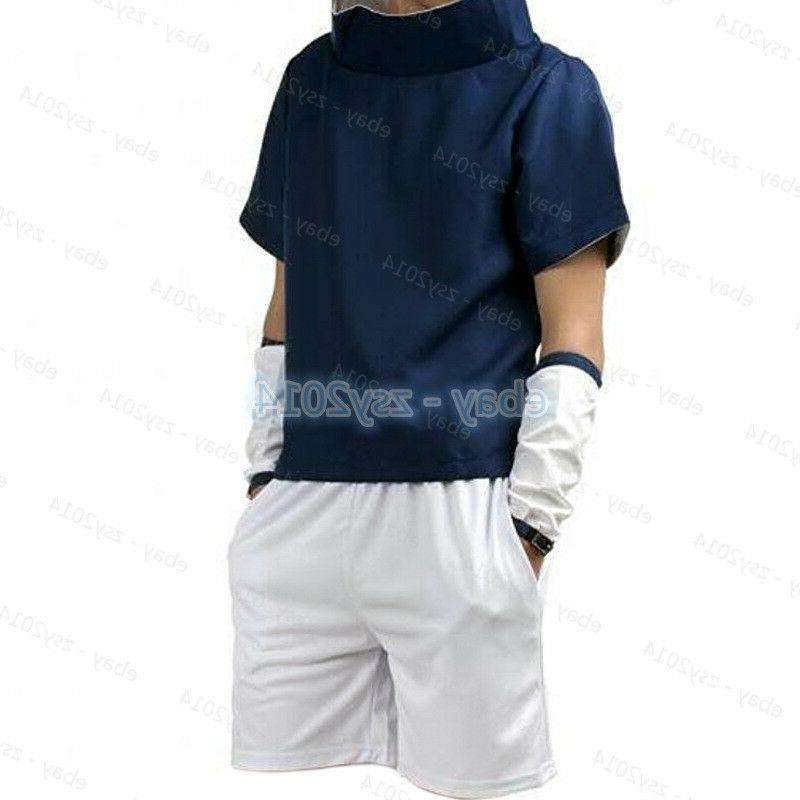 Young Uchiha Costume Mens Child Clothing Props