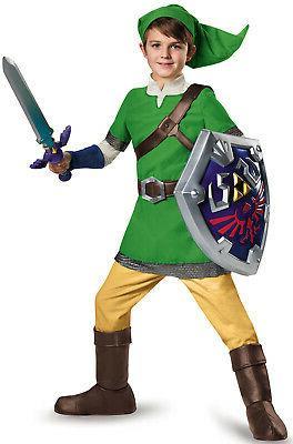 zelda link deluxe child costume