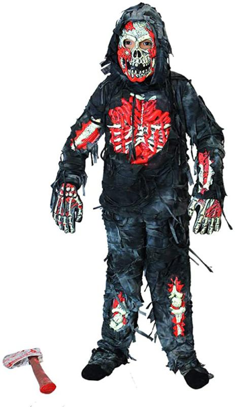 Spooktacular Creations Zombie Deluxe Costume for Child Bloody