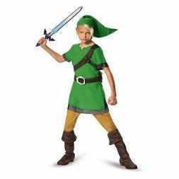 Disguise Legend Of Zelda Link Classic Kids Boys Child Hallow