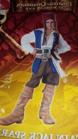 License Disney Pirates Caribbean Captain Jack Sparrow Child
