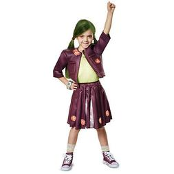 Licensed Disney Zombies Zoey Cheer Outfit Classic Movie Cost