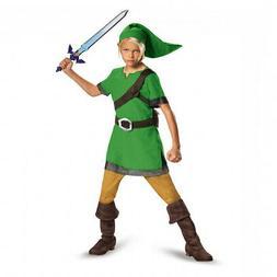 Link Child Costume Legend Of Zelda Licensed Costume Kids Boy