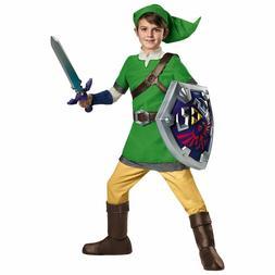Link Costume Kids Legend of Zelda Halloween Disguise, Size L