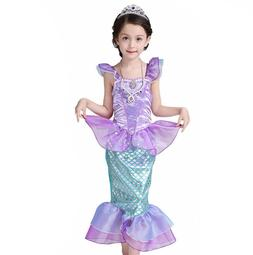 Little Fairy Mermaid Tail <font><b>Costume</b></font> for <f