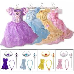 Little <font><b>Girls</b></font> Princess Rapunzel Cinderell