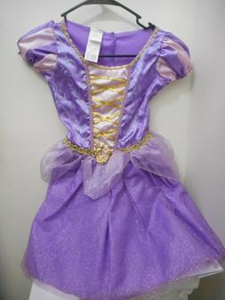 Disney Little Girls Princess Rapunzel Dress Costume Kids Fai