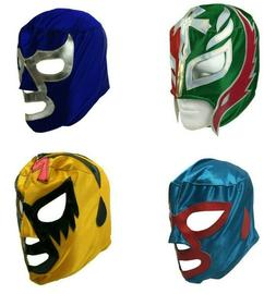 Lucha Libre Mask Youth Kids Costume Mexican Wrestling Luchad