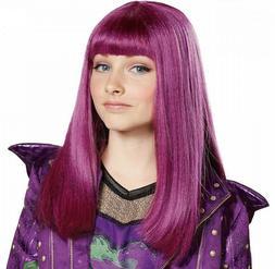 mal isle wig costume accessory kids teen