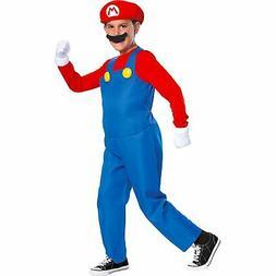 Super Mario Bros Deluxe Halloween Costume for Kids, Accessor