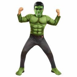 Marvel Avengers AV4 Endgame HULK Child Costume Muscle Chest