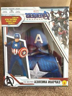 Marvel Avengers Endgame CAPTIAN AMERICA Costume child M 8-10