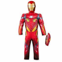 Disney Store Marvel Avengers Iron Man Costume 3pc Set Kids S