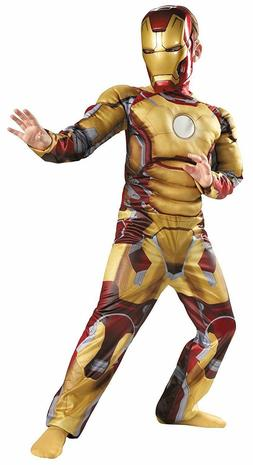Marvel Iron Man Child Costume Mark 42 Avengers Boy's Multipl