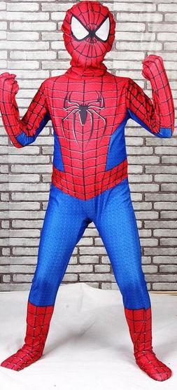 Kids Marvel Spiderman Halloween Costume Cosplay Bodysuit