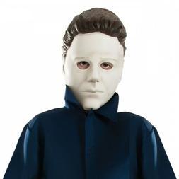 Michael Myers Mask Kids Scary Halloween Costume Fancy Dress