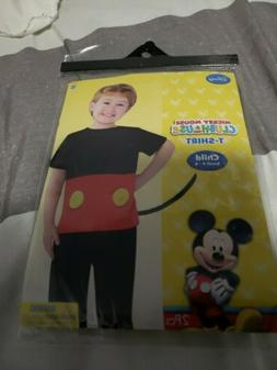 MICKEY MOUSE clubhouse DISNEY Child Costume SIZE S  tshirt w