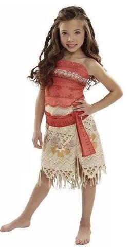 moana girls adventure outfit costume size 4