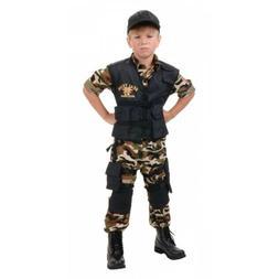 Navy SEAL Costume Kids Halloween Fancy Dress