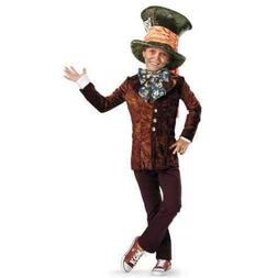 New Disney Alice in Wonderland Mad Hatter Child Costume Smal