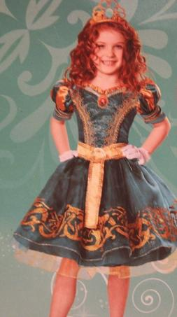 *New* Disney Deluxe Child Costume-Brave, Merida, Size 3T wit