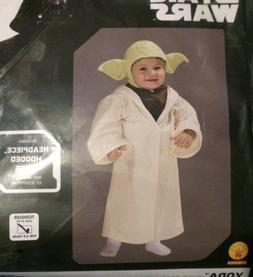 NEW Disney Star Wars YODA Costume Toddler / Child Size 3T-4T