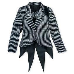 New Disney Store Nightmare Jack Skellington Costume Jacket K