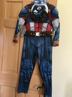 New Disney Store Marvel Avengers Captain America Costume Set