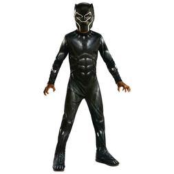 NEW Marvel Black Panther Child size S 4/6 Licensed Costume J
