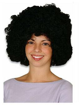 New Mens Womens Child Costume Black Afro Disco Wigs