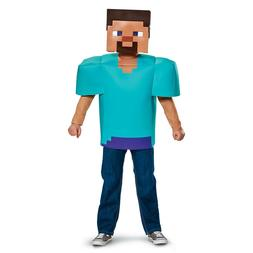 New Minecraft Steve Classic Child Costume by Disguise 65639