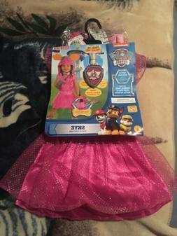 New Paw Patrol Child Costume Skye Kids Children's Girls Todd