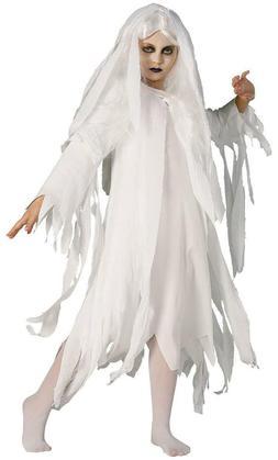 NEW Rubie's Costume Co. Ghostly Spirit Child Costume White -