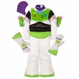NEW Disney Store Buzz Lightyear Costume Light-up Wings kids