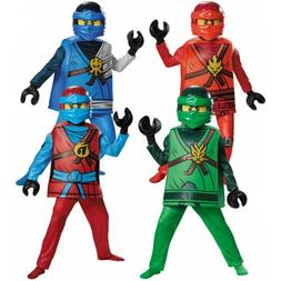 Ninjago Costume Kids LEGO Ninja Halloween Fancy Dress