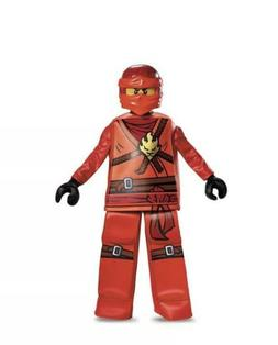 Ninjago Red Costume For Kids Red Size 4-6  New Sz Small
