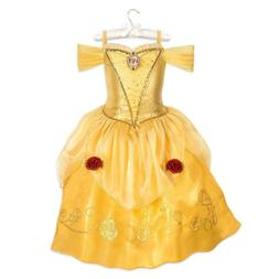 NWT Disney Store 4 5/6 7/8 9/10 Belle Costume for Kids Beaut