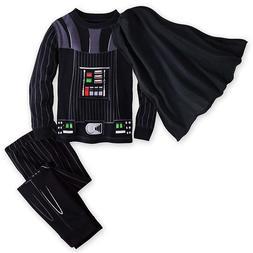NWT Disney Darth Vader Costume Pajamas $5 Off Star Wars boys