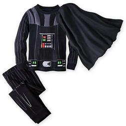 NWT Disney Store Star Wars Cape Darth Vader Costume PJ Pals