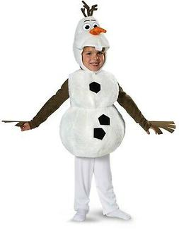 OLAF Disney Frozen Child Deluxe Plush Snowman Costume | Disg